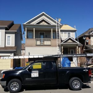 Residential Roofing Repair April 1, 2015