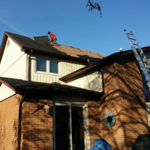 Residential Roofing Repair – April 29, 2015