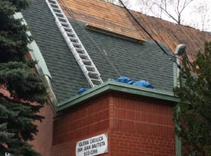 Roofing Replacement –  May 12,2015