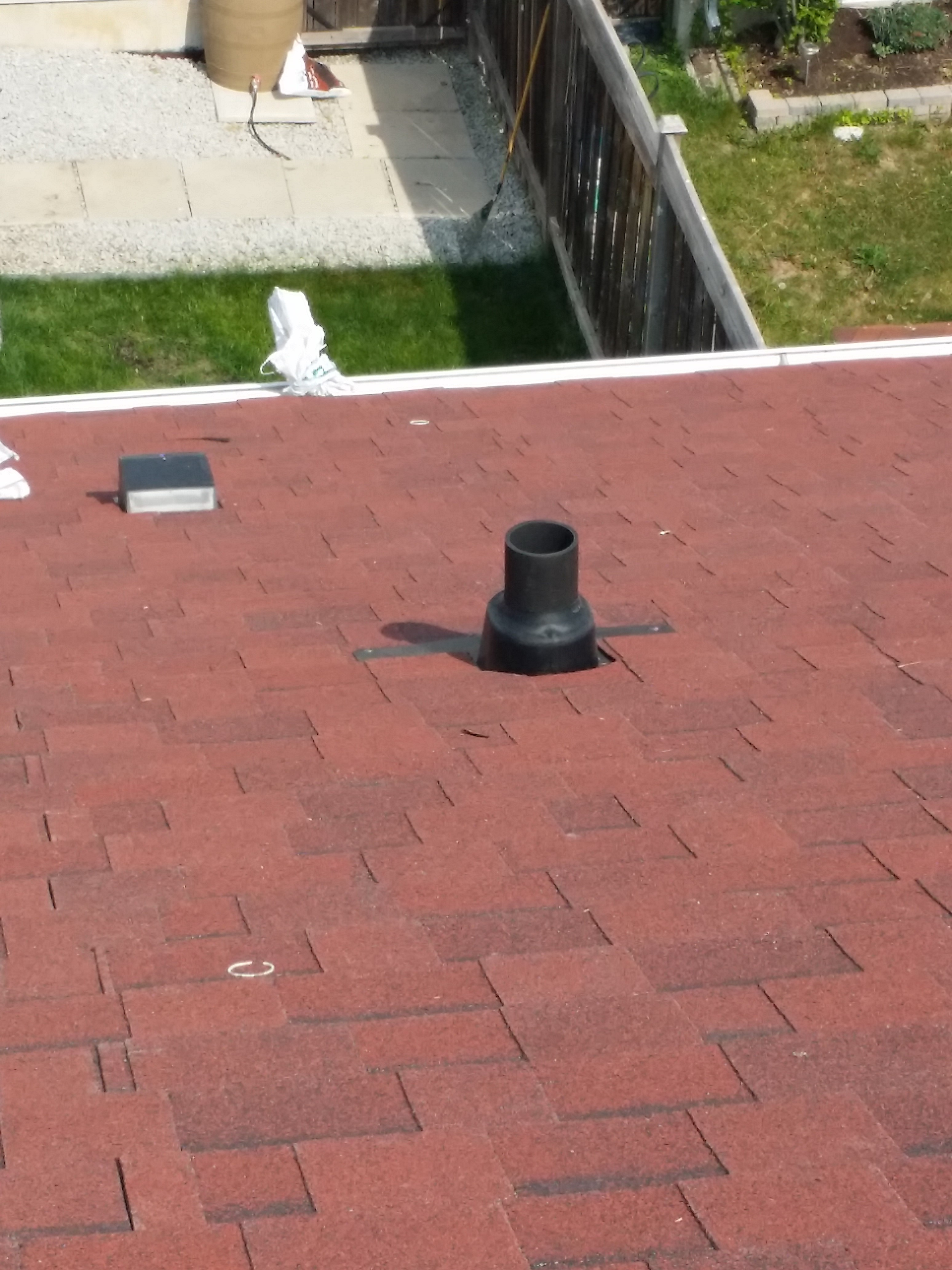 Residential Roof Vents Installation May 2015 Kingdom