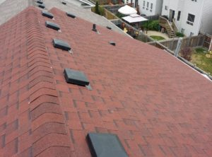 Residential Roof – Vents Installation May 2015