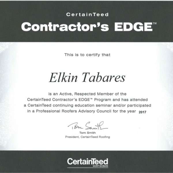 CertainTeed Contractor's Edge