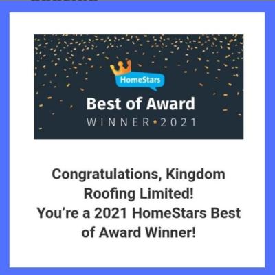 HomeStars Best Award 2021