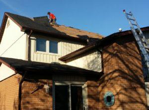 Residential Roofing Repair – April 29, 2015