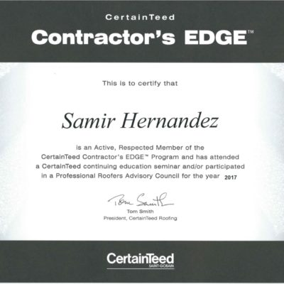 CertainTeed Contractor's Edge